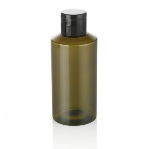 150ml green plastic bottle
