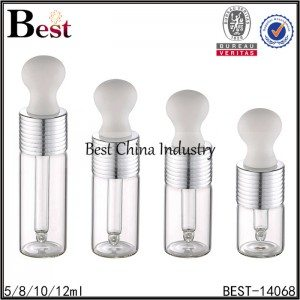 18mm neck size tube glass dropper bottle 5/8/10/12ml
