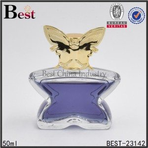 star shaped glass perfume bottle 50ml