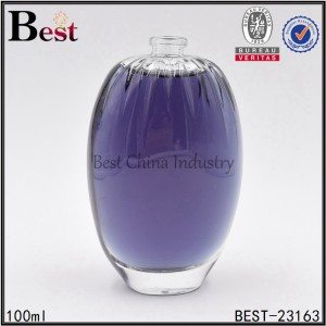 clear perfume bottle glass bottle 100ml