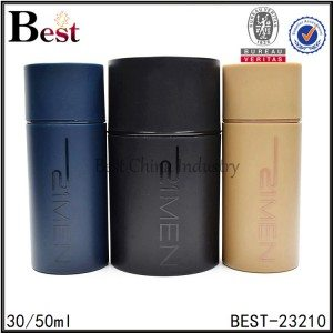 cylinder perfume bottle with sprayer 30/50ml
