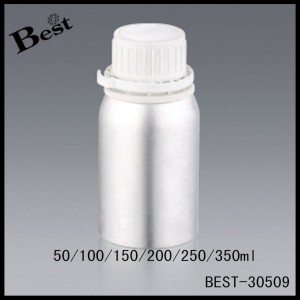 essential oil storage aluminum bottle with seal cap 50/100/150/200/250/350ml