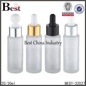 frosted glass dropper bottle 20/30ml