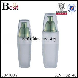 frosted glass bottle 30/100ml