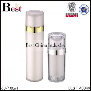 acrylic bottle pump bottle 60/100ml