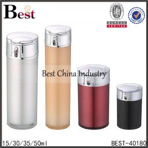 cylinder acrylic bottle 15/30/35/50ml