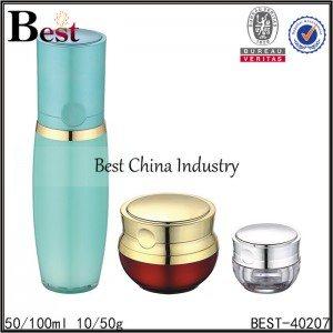 clear/red round acrylic jar 10g 50g, round acrylic bottle lotion bottle 50/100ml