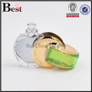 flat ball shape perfume bottle 4ml