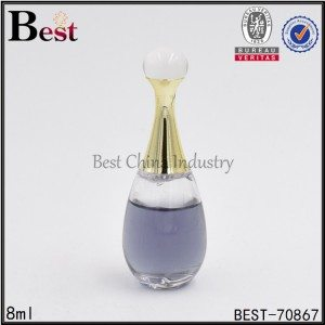 oval shaped perfume bottle 8ml