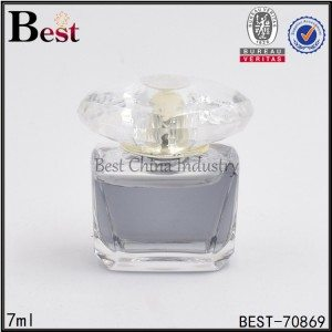 square petg perfume bottle 7ml