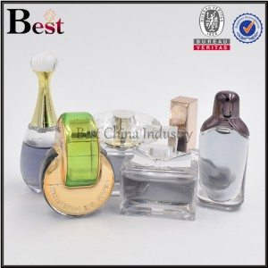 4ml 5ml 7ml 8ml small clear PETG sample perfume bottle