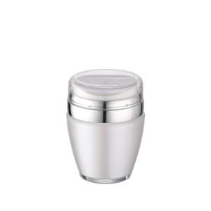 luxury airless pump cosmetic jar