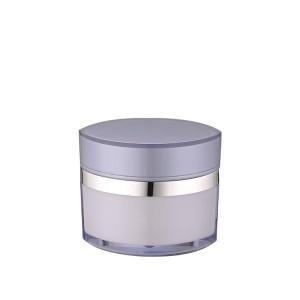 eye shape empty acrylic cosmeitic cream jar