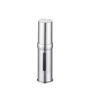 high quality silver airless pump bottle
