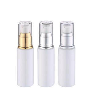 50ml 100ml white plastic bottle with pump